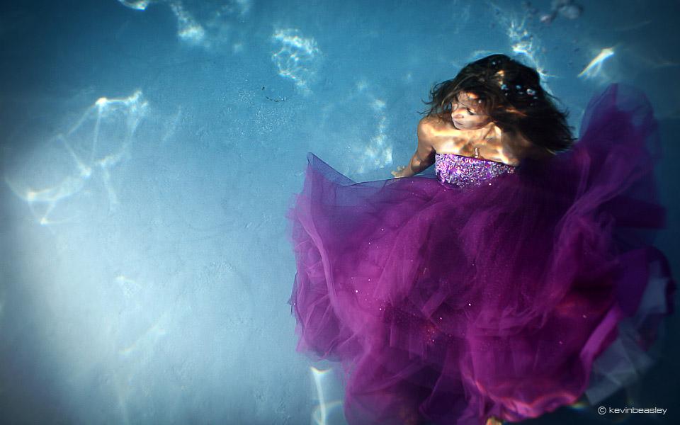 Underwater Senior Portraits Kevin Beasley Photographer